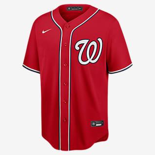 MLB Washington Nationals (Max Scherzer) Men's Replica Baseball Jersey