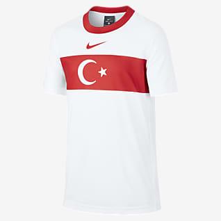 Turkey Home Older Kids' Short-Sleeve Football Top