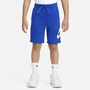 Nike Sportswear Club Fleece Shorts para niños talla pequeña
