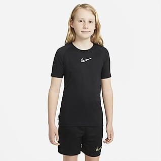 Nike Dri-FIT Academy เสื้อฟุตบอลแขนสั้นเด็กโต
