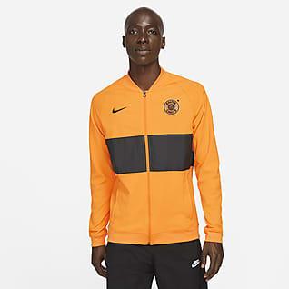 Kaizer Chiefs F.C. Giacca da calcio con zip a tutta lunghezza - Uomo