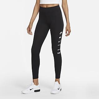 Nike Sportswear Swoosh Leggings med høj talje til kvinder