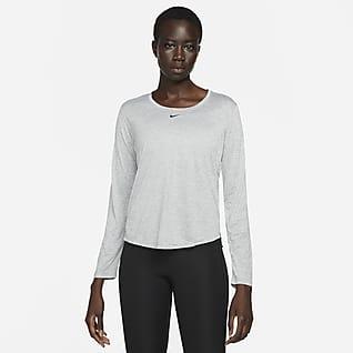 Nike Dri-FIT One Women's Standard Fit Long-Sleeve Top