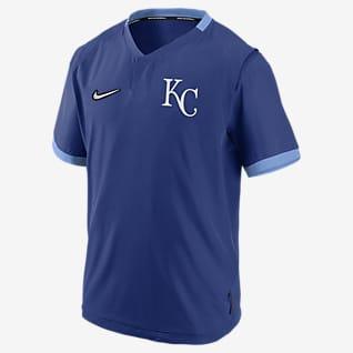 Nike Hot (MLB Kansas City Royals) Men's Short-Sleeve Jacket