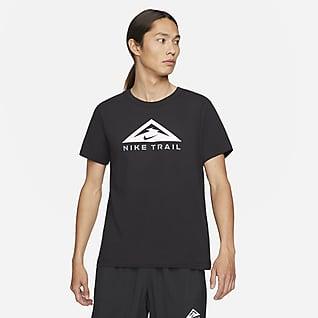 Nike Dri-FIT T-shirt z krótkim rękawem do biegów przełajowych