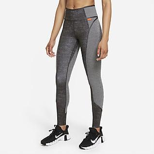 Nike Dri-FIT One Luxe Leggings mit mittelhohem Bund für Damen
