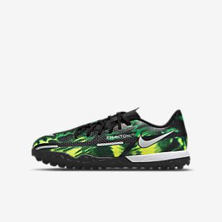 Nike Jr. Phantom GT2 Academy TF Little/Big Kids' Artificial-Turf Soccer Shoes