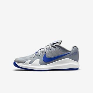 NikeCourt Jr. Vapor Pro Sapatilhas de ténis para criança/Júnior