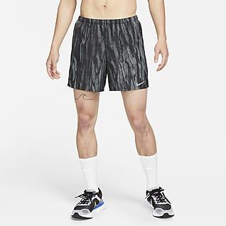 Nike Challenger Wild Run กางเกงวิ่งขาสั้น 5 นิ้วมีซับในผู้ชาย
