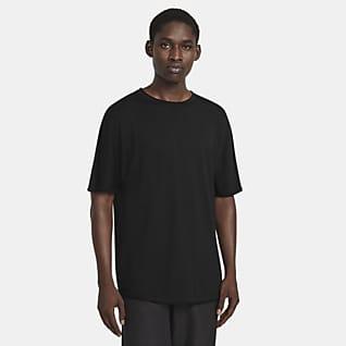 Nike ESC Kurzarm-Strickoberteil für Herren