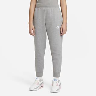 Nike Sportswear Club Fleece Bukse til store barn (jente)