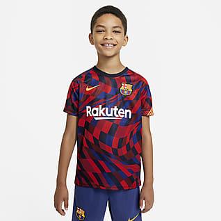 FC Barcelona Kortärmad fotbollströja för ungdom