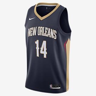 Brandon Ingram Pelicans Icon Edition 2020 Nike NBA Swingman Jersey