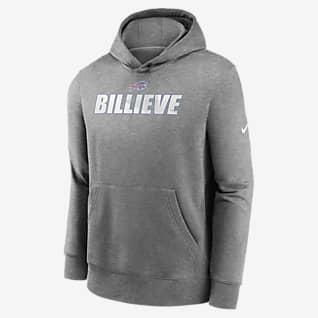 Nike Club Fleece (NFL Buffalo Bills) Big Kids' (Boys') Hoodie
