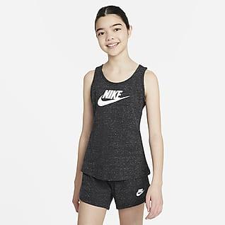 Nike Sportswear Camiseta de tirantes Nike Sportswear para niñas talla grande