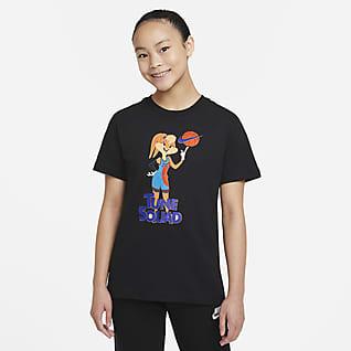 Nike Sportswear x Space Jam: A New Legacy T-Shirt für ältere Kinder (Mädchen)