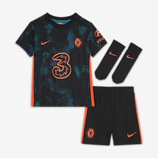 Tercera equipació Chelsea FC 2021/2022 Equipació Nike Dri-FIT - Nadó i infant