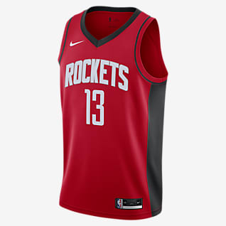 James Harden Rockets Icon Edition 2020 Nike NBA Swingman Trikot