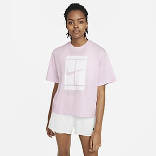 NikeCourt T-shirt de ténis para mulher