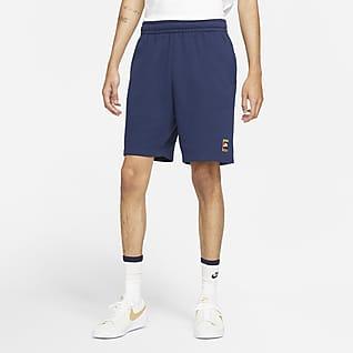 Nike SB Pantalons curts de teixit Fleece estampats de skateboard