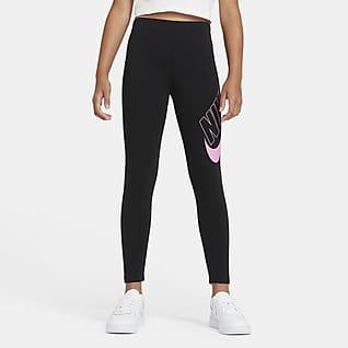 Nike Sportswear Favorites Older Kids' (Girls') Graphic Leggings