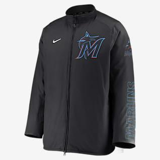 Nike Dugout (MLB Miami Marlins) Men's Full-Zip Jacket