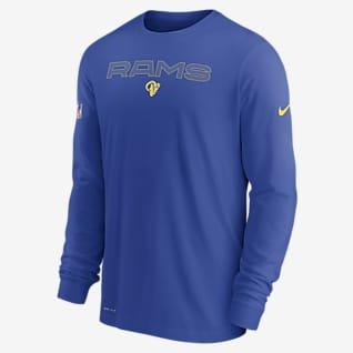 Nike Dri-FIT Sideline Team Issue (NFL Los Angeles Rams) Men's Long-Sleeve T-Shirt
