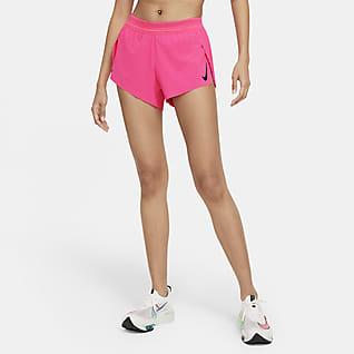 Nike AeroSwift Löparshorts för kvinnor