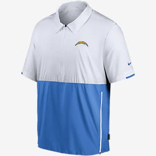 Nike Coach (NFL Los Angeles Chargers) Men's Short-Sleeve Jacket