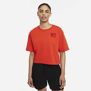 Jordan Essentials เสื้อยืดผู้หญิงทรงหลวม