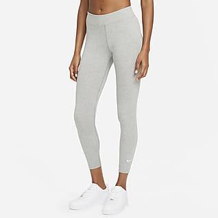 Nike Sportswear Essential 7/8-leggings med mellemhøj talje til kvinder