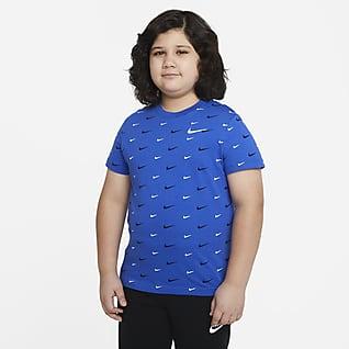 Nike Sportswear Big Kids' (Boys') Printed T-Shirt (Extended Size)