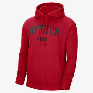 Houston Rockets Heritage Men's Nike NBA Pullover Hoodie