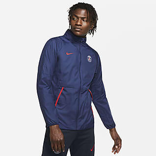 Paris Saint-Germain Repel Men's Graphic Football Jacket