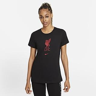 Liverpool FC Fotbolls-t-shirt för kvinnor