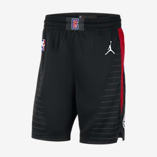 Clippers Statement Edition 2020 Shorts Jordan NBA Swingman för män