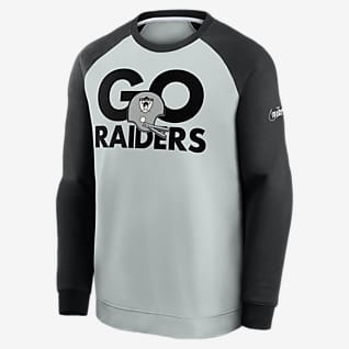 Nike Historic Raglan (NFL Raiders) Herren-Sweatshirt