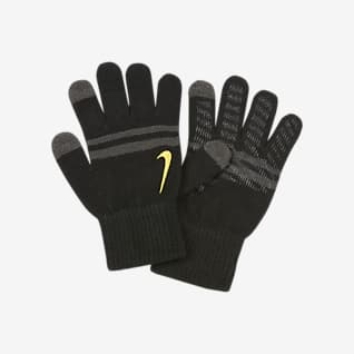 Nike Stripe Knitted Tech And Grip Kids' Gloves