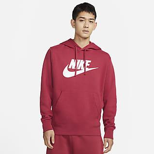 Nike Sportswear Club Fleece Kapucnis, belebújós ábrás férfipulóver