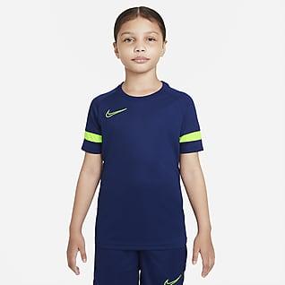 Nike Dri-FIT Academy Voetbaltop met korte mouwen voor kids