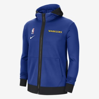 Golden State Warriors Showtime Sudadera con capucha de la NBA Nike Therma Flex para hombre