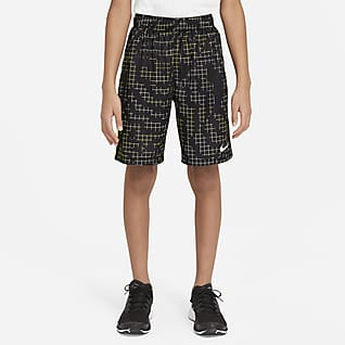 Nike Dri-FIT Older Kids' (Boys') Printed Training Shorts
