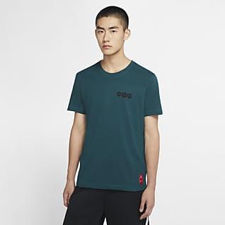 ナイキ Dri-FIT カイリー ロゴ メンズ バスケットボール Tシャツ
