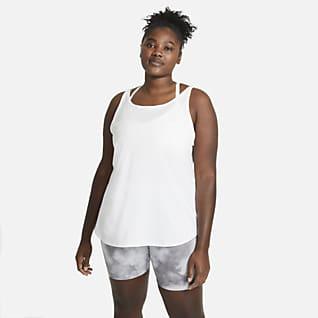 Nike Camiseta de tirantes de entrenamiento para mujer talla grande