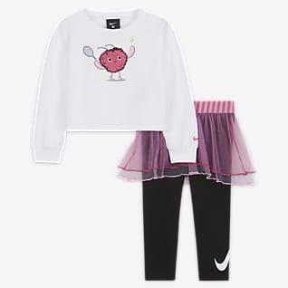 Nike Conjunto de leggings y sudadera para bebé de 12 a 24 meses Nike