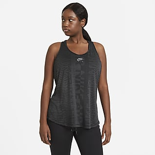 Nike Air Camisola de running sem mangas para mulher (tamanhos grandes)
