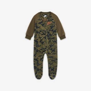 Nike Baby (0-9M) Full-Zip Camo Coverall