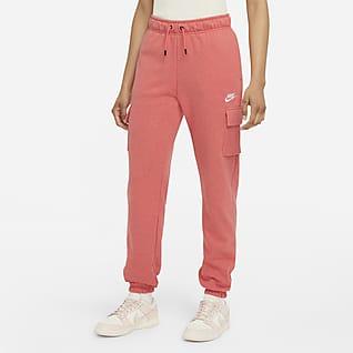 Nike Sportswear Essentials Pantalones cargo de tiro medio para mujer