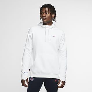 Paris Saint-Germain Fleece Erkek Kapüşonlu Futbol Sweatshirt'ü