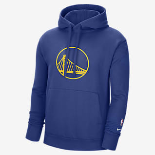 Golden State Warriors Essential NBA-huvtröja i fleece för män
